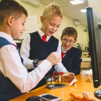 Мир в масштабе LEGO Education WeDo